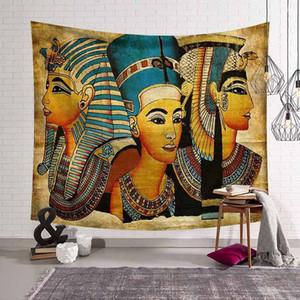 Vendita calda poliestere Mandala Arazzo Boemia India Donne classico modello Tapestry Wall Hanging Decoration cortina di stoffa
