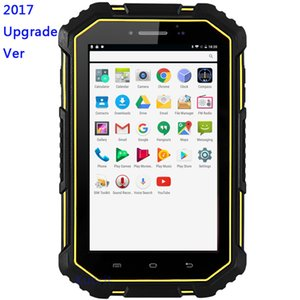 M16 Su Geçirmez ip67 Android 6.0 Tablet PC 4G Lte 2 GB RAM 16 GB ROM GPS MTK6732 Su Geçirmez Toz Geçirmez Telefon 7000 Pil 13MP Dört çekirdekli Çift SI