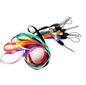 Kimlik Geçiş Kartı Badge Gym Anahtar / Mobil Telefon USB Tutucu DIY asın Halat Kement Bileklikli için bağlar Boyun askısı