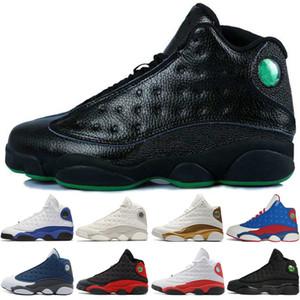 Новые 13 13s Mens Basketball обувь Phantom Чикаго GS Hyper Royal Black Cat Кремни Бред Браун Любовь Уважайте чернокожих мужчин спортивные кроссовки женщин