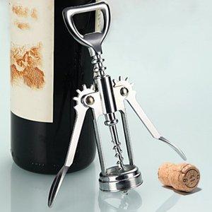 Profesyonel Basınç Tirbuşon Kırmızı Şarap Açacağı Bar Aksesuarları Şampanya Üzüm Paslanmaz Çelik Şarap Şişe Açacağı