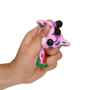 Squeeze Spotted Deer Cream Bread Scented Slow Rising Toys Phone Charm Gifts Cute and soft cellphone straps