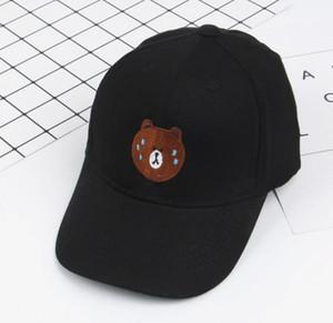 2018 новая весна и лето детская бейсболка baby bear pattern bending cap cute boys and girls shade leisure cap MZ001
