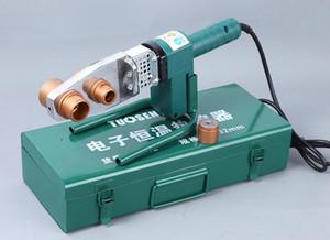 أنابيب القاطع 20-32 ملليمتر، 20-63 ملليمتر أنبوب بلاستيكي أنابيب لحام 220 فولت 750-900 واط آلة تذوب الساخنة، آلة لحام الأنابيب