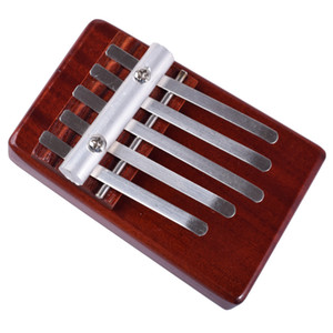 5 Notes Kalimba Wood Marimba Percussion Instruments Toy For Kids Finger Piano Gifts Child Thumb Piano
