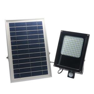 Edison2011 6000mah 120 Leds 3528 SMD LED Solar Lamp PIR Body Motion Sensor 6V 6W Solar Panel LED Floodlight For indoor Outdoor 1000Lum