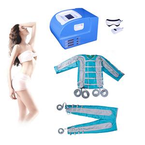 2019 Pressotherapy Lenf Drenaj Makinesi Sauna Pressoterapi makinesi ems kas stimülasyonu vücut Detoks hava masajı satışa