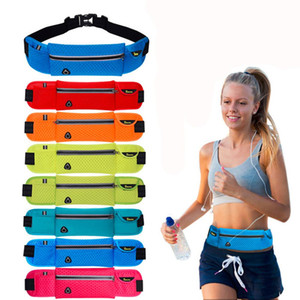 Anti-theft Slim Run Gym Jogging Exercise Cell Phone Tight Chest Waist Fanny Bag Sports Pouch Running Shoulder Bag Drop Shipping
