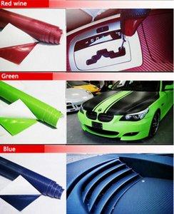 10PCS 127CM*30CM 3D Color Modification Film Car Interior Whole Vehicle Color Change Paste Carbon Fiber Color Change Sticker