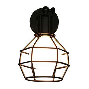 Lámpara de pared de la vendimia País de América industria industrial Estilo AC E27 Lámpara de noche Aplique de pared Hierro Industrial Iluminación interior