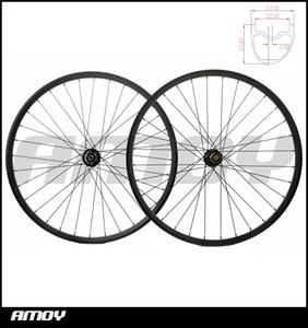 슈퍼 라이트 전체 섬유 산악 자전거 림 791/792 허브 mtb 자전거 30mm 와이드 wheelset MTB 29er 탄소 바퀴 무료 배송 29er MTB 탄소 ㅁ