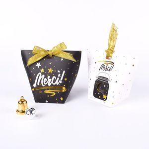 Merci Beaucoup의 호의 상자 낭만주의의 스타 사탕 상자 웨딩 파티 선물 패키지 Little Things Gift Bag QW7053