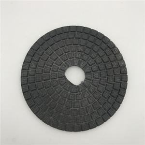 Diamond Polishing Buff Black da 6 pollici (150 mm) per disco abrasivo cerchiatura a disco Granite scuro. Disco abrasivo