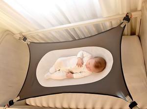 Baby Detachable Portable Folding Crib Hammock - Newborn Baby Sleeping Bed Kids Room Bed Adjustable Elastic Hammock