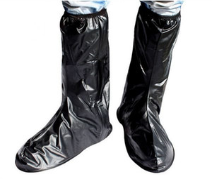 Femme / Homme imperméable anti-dérapant botte de pluie couvre vélo chaussures d'équitation vélo M-XXL moto anti-dérapant équipement de protection de pluie