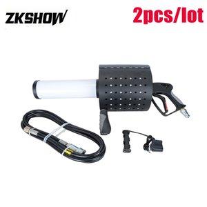 판매 새로운 LED CO2 색종이 캐논 제트 건 Pistola CO2 DJ 디스코 클럽 펍 파티 웨딩 무대 장비 기계 110V 230V 무료 배송