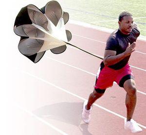 "Adjustable 56"" Speed Drills Training Resistance Parachute Umbrella Running Chute Soccer Football Training Power Tool"