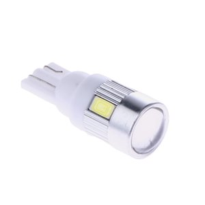 10pcs bianco ad alta potenza per automobili 3W luci a LED mostrano la luce larga T10 5630 6SMD auto lampadine a diodi emettitori di luce