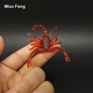 Mini Scorpion Insetti Animal Identification Insegnamento Statico Modello Kid Fun Tricky Toys Halloween Pratico Joke Prank Model