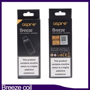 Breeze Coil tête 0.6ohm 1.0ohm 1.2ohm U-tech remplacement Atomiseur Bobines Breeze 2 Kit 0266229