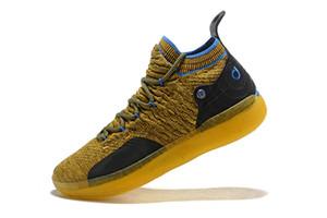 Hommes Kevin Durant 10 11 X xi Confetti Multicolore Limité Chaussures De Basket-ball KD Tante Perle Arc En Ciel Colorway China Town Sports Sneakers 7-12