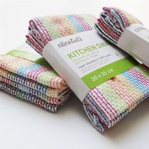34 * 34 سم منتجات جديدة اليابان وكوريا الجنوبية المطبخ المنزلية مع طبقة مزدوجة أربع قطع من منشفة التنظيف