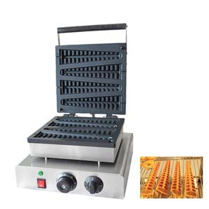 закусочная пищевая машина электрический вафельница с фруктами на палочке