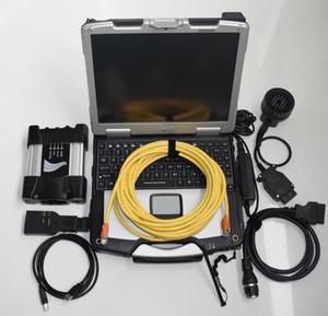 Pour BMW ICOM NEXT-soft ware de 750GB HDD + CF30 portable prêt à travailler pour scanner de diagnostic BMW win7