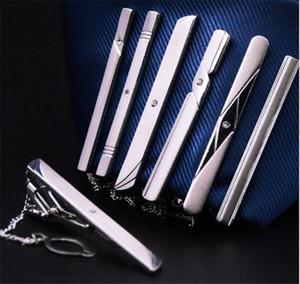 200pcs stili misti Mens Tie Clips Tie Pins Accessori moda maschile Tie-Clip per matrimonio R164