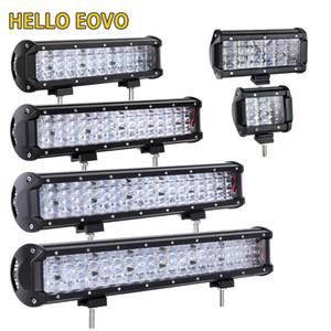 HELLO EOVO LED Bar 4 -22 inch LED Light Bar for Work Indicators Driving Offroad Boat Car Tractor Truck 4x4 SUV ATV 12V 24v