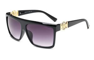 Moda SARA Deportes al aire libre Gafas de sol a prueba de hombre Revestimiento reflectante Gafas de espejo Gran Surround2018ear Con Números antideslizantes
