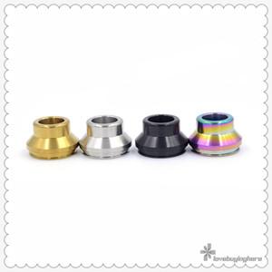 22MM قمة المعادن بالتنقيط تلميح الفولاذ المقاوم للصدأ صنع E- السجائر الملحقات RDA الغطاء العلوي لبعض البخاخات 22MM متنوعة الألوان