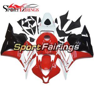 Full Injection ABS Plastic Fairings For Honda CBR600RR 2009 2010 2011 2012 CBR600 RR 09 - 12 Fairing Kit Body Frames Body Kit Red White Kits