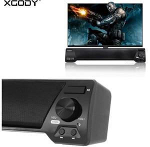 XGODY LP09 Soundbar pour TV PC Téléphone TF Bluetooth Haut-Parleur 10 W Home Theater Audio Récepteur Music Center Sound Bar avec Radio FM