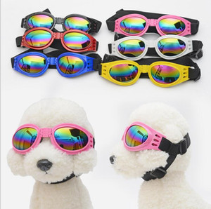 Köpekler Göz Aşınma katlanabilir Pet Güneş Gözlüğü Küçük Köpek Gözlük göz koruması Gözlük Kedi Gözlük Fotoğrafları Sahne Kediler Pet Malzemeleri