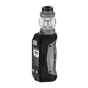 Authentique Geekvape Aegis Mini 80W Kit 2200mAh avec atomiseur de réservoir Cerberus 5.5ml TC Batterie Mod Vape
