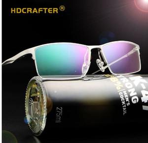 Uomini Carter Clear Occhiali da lettura Maschile Pianura per occhiali in vetro Telaio Ultralight Lunette Oculos Miopia Optical Lazy Occhiali da vista Telaio