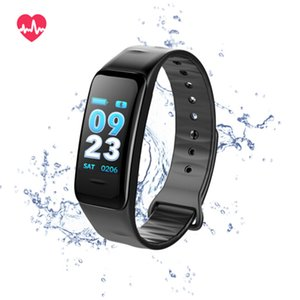 C1S Fitness Trackers Smart Bracelet Activity Heart Rate Blood Pressure Monitor Ip67 Waterproof Smart Wristand For ios Android Smartphone