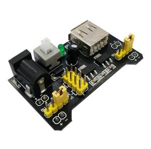 ¡Envío gratis! 10 unids / lote MB102 Breadboard Módulo de fuente de alimentación 3.3V 5V para Arduino Board C01FC020000 3.3V / 5V