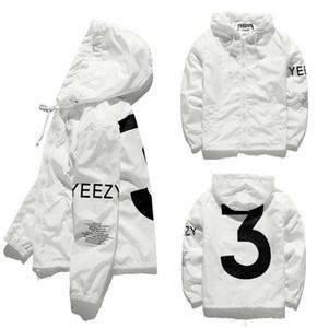 Tasarımcı Ceket Lüks Rüzgarlık Kaykay Ceketler Erkekler Kadınlar Kapşonlu Ceket Rüzgarlık Streetwear Erkek Ceketler Uzun Kollu Boyutu S-2XL