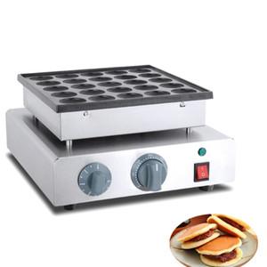 Qihang_top Venda Quente 16 pcs Uso Comercial 220 v Panela Elétrica Waffle de Feijão Vermelho Dorayaki Baker Maker Machine