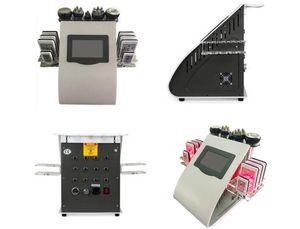 Taşınabilir Kavitasyon RF Vakum Lipo Lazer Zayıflama Makinesi ile 10 adet Lipolaser Pedleri Vücut Şekillendirme Cilt Sıkılaştırma Için Güzellik Ekipmanları