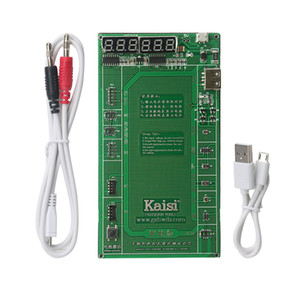 Kaisi Battery Activation Charge Board for Android phone iPhone 7 Plus 6S 6 Plus 5S 5 4S 4+micro USB Cable phone repair tool