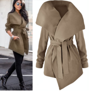 Autumn Winter women's elegant Trench Coat long Outerwear loose clothes for lady good quality trench female coat windbreaker