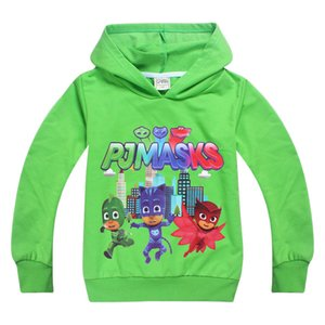 Dgfstm 3-9Year Cartoon Pattern Baby Kids Boys Hoodies Clothes For Spring Autumn Children Kids Girls Sweatshirts Child Garment