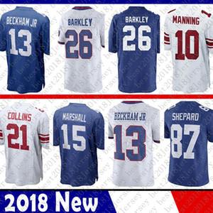 26 Saquon Barkley 8 New Jersey Iorque 8 Daniel Jones 10 Eli Manning gigantes 11 Phil Simms 88 Evan Engram Jerseys 87 Sterling Shepard vermelhas