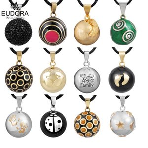 Retail Eudora Pregnancy Ball Jewelry Gift Chime Ball Mexican Bola Belly Sounds Pendant Harmony Bola Pendants Necklace Gift