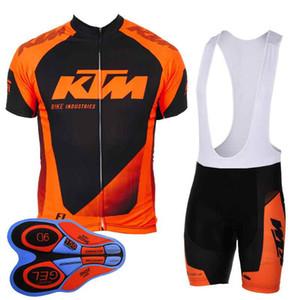 2018 KTM Cycling Jersey MTB bici bicchierini bicchierino bicicleta Maillot uomo ciclismo vestiti da corsa biciclette abbigliamento sportivo 100626Y