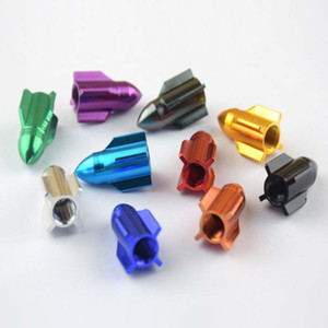 Universal Car Tyre Air Valve Caps Bicycle Tire Valve Cap Car Wheel Styling rockets plane design