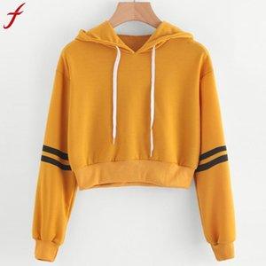 Женский комбинезон с капюшоном в полоску Толстовка с капюшоном и джемпером Укороченный пуловер с капюшоном продукт, не покупайте L18100702